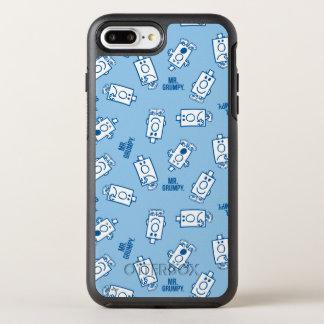Coque Otterbox Symmetry Pour iPhone 7 Plus Motif bleu de lancer d'émotion de M. Grumpy |