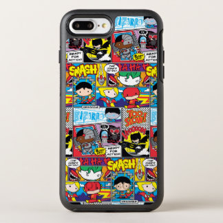 Coque Otterbox Symmetry Pour iPhone 7 Plus Motif de bande dessinée de ligue de justice de