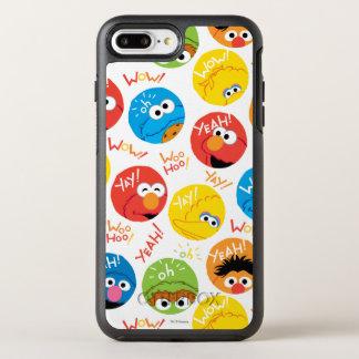 Coque Otterbox Symmetry Pour iPhone 7 Plus Motif de caractère de cercle de Sesame Street