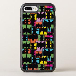 Coque Otterbox Symmetry Pour iPhone 7 Plus Motif de carrés de symbole de batte