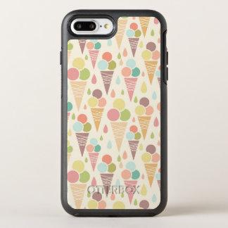Coque Otterbox Symmetry Pour iPhone 7 Plus Motif de cornets de crème glacée