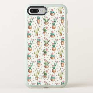 Coque Otterbox Symmetry Pour iPhone 7 Plus Motif de fleur d'étape | de fleur de désert