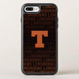 Coque Otterbox Symmetry Pour iPhone 7 Plus Motif de logo de l'Université du Texas |