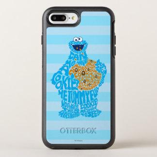Coque Otterbox Symmetry Pour iPhone 7 Plus Motif de remplissage de monstre de biscuit