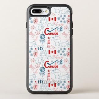 Coque Otterbox Symmetry Pour iPhone 7 Plus Motif de symboles du Canada |