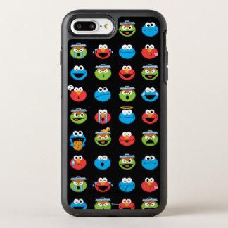 Coque Otterbox Symmetry Pour iPhone 7 Plus Motif d'Emoji de copains de Sesame Street
