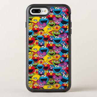 Coque Otterbox Symmetry Pour iPhone 7 Plus Motif d'équipage de Sesame Street