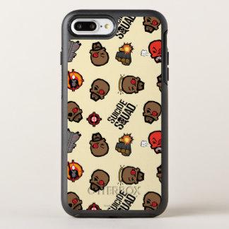 Coque Otterbox Symmetry Pour iPhone 7 Plus Motif du peloton | Deadshot Emoji de suicide
