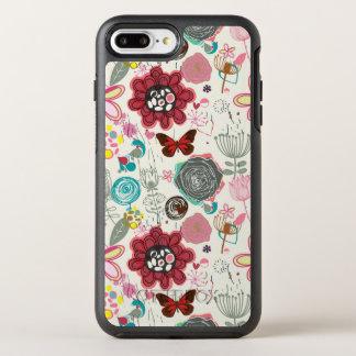 Coque Otterbox Symmetry Pour iPhone 7 Plus Motif floral dans le rétro style 5