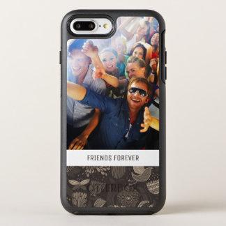 Coque Otterbox Symmetry Pour iPhone 7 Plus Motif floral de photo et de textes avec les