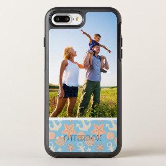 Coque Otterbox Symmetry Pour iPhone 7 Plus Motif nautique en pastel de photo