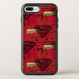 Coque Otterbox Symmetry Pour iPhone 7 Plus Motif rouge de bouclier