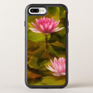 Coque Otterbox Symmetry Pour iPhone 7 Plus Nénuphars artistiques, la Californie