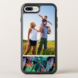 Coque Otterbox Symmetry Pour iPhone 7 Plus Oiseau d'aquarelle de photo du paradis