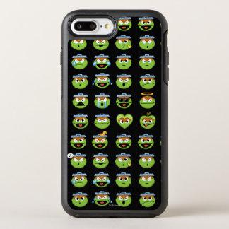 Coque Otterbox Symmetry Pour iPhone 7 Plus Oscar le motif d'Emoji de rouspéteur