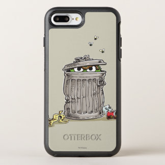 Coque Otterbox Symmetry Pour iPhone 7 Plus Oscar vintage dans la poubelle