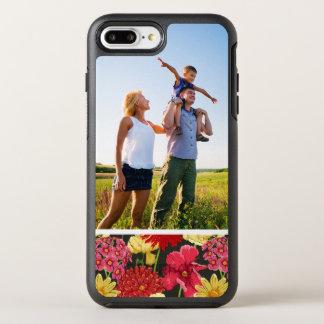 Coque Otterbox Symmetry Pour iPhone 7 Plus Papier peint floral de photo dans le style