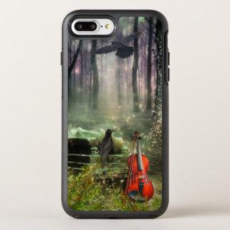 Coque Otterbox Symmetry Pour iPhone 7 Plus Pays des merveilles gothique