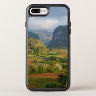 Coque Otterbox Symmetry Pour iPhone 7 Plus Paysage panoramique de vallée, Cuba