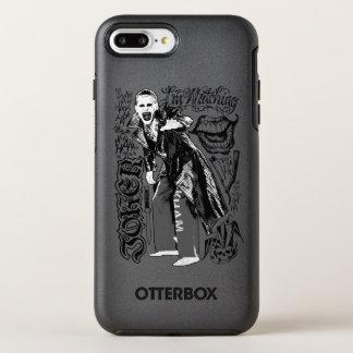 Coque Otterbox Symmetry Pour iPhone 7 Plus Photo de typographie de joker du peloton | de