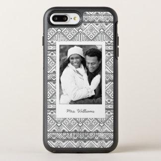 Coque Otterbox Symmetry Pour iPhone 7 Plus Photo et motif aztèque géométrique 2 de nom