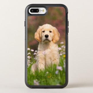 Coque Otterbox Symmetry Pour iPhone 7 Plus Photo mignonne de chiot de chien de golden