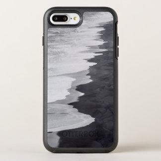 Coque Otterbox Symmetry Pour iPhone 7 Plus Plage noire et blanche pittoresque