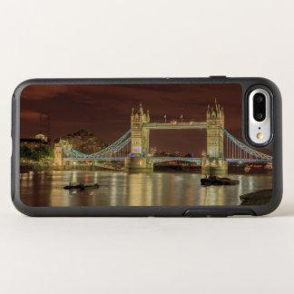 Coque Otterbox Symmetry Pour iPhone 7 Plus Pont de tour la nuit, Londres