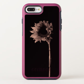 Coque Otterbox Symmetry Pour iPhone 7 Plus Portrait de tournesol - photographie de beaux-arts