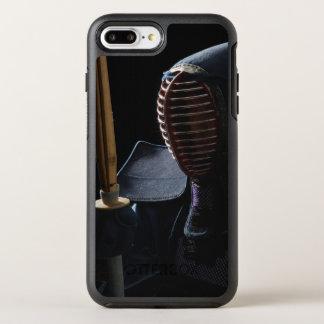 Coque Otterbox Symmetry Pour iPhone 7 Plus Portrait d'un escrimeur 6 de Kendo