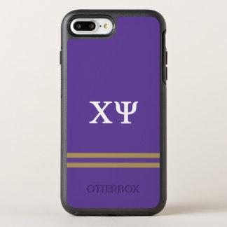 Coque Otterbox Symmetry Pour iPhone 7 Plus Rayure de sport de livre par pouce carré | de Chi