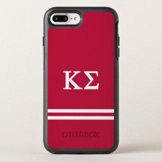 Coque Otterbox Symmetry Pour iPhone 7 Plus Rayure de sport du sigma | de Kappa