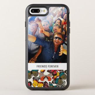 Coque Otterbox Symmetry Pour iPhone 7 Plus Rétro motif floral 7 de photo et de textes