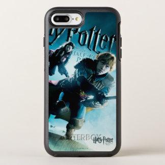 Coque Otterbox Symmetry Pour iPhone 7 Plus Ron et Ginny sur les balais 1