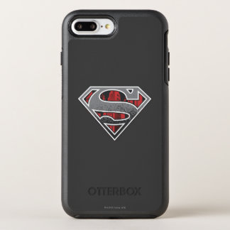 Coque Otterbox Symmetry Pour iPhone 7 Plus S-Bouclier logo gris et rouge de | de Superman de