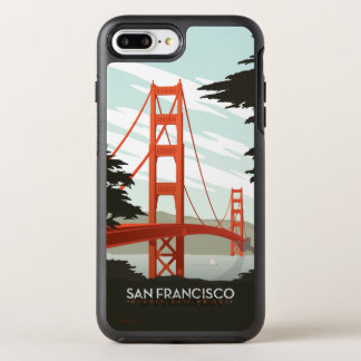 Coque Otterbox Symmetry Pour iPhone 7 Plus San Francisco, CA - golden gate bridge