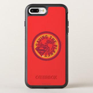 Coque Otterbox Symmetry Pour iPhone 7 Plus Sauvegarde du cercle de rouge de planète