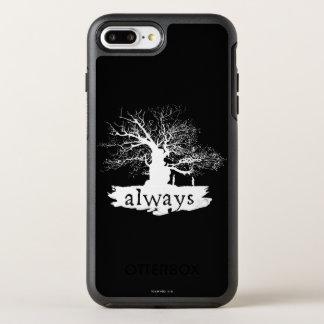 Coque Otterbox Symmetry Pour iPhone 7 Plus Silhouette de citation du charme | de Harry Potter