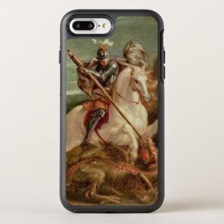 Coque Otterbox Symmetry Pour iPhone 7 Plus St George massacrant le dragon, (huile sur le