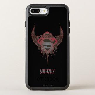Coque Otterbox Symmetry Pour iPhone 7 Plus Superman a stylisé le crâne de   et s'envole le
