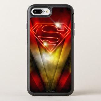 Coque Otterbox Symmetry Pour iPhone 7 Plus Superman a stylisé le logo rouge brillant