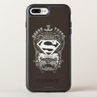 Coque Otterbox Symmetry Pour iPhone 7 Plus Superman a stylisé l'honneur de |, vérité sur le