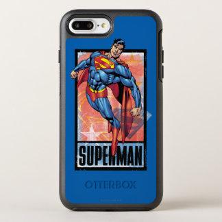 Coque Otterbox Symmetry Pour iPhone 7 Plus Superman avec la frontière foncée