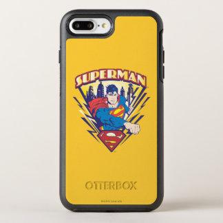 Coque Otterbox Symmetry Pour iPhone 7 Plus Superman avec l'électricité