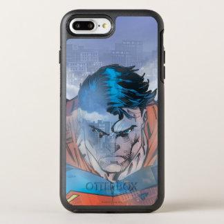 Coque Otterbox Symmetry Pour iPhone 7 Plus Superman - bleu