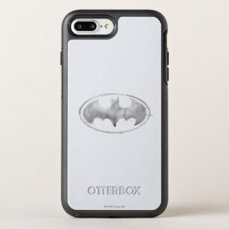Coque Otterbox Symmetry Pour iPhone 7 Plus Symbole de batte de café - gris