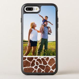 Coque Otterbox Symmetry Pour iPhone 7 Plus Taches de girafe de photo
