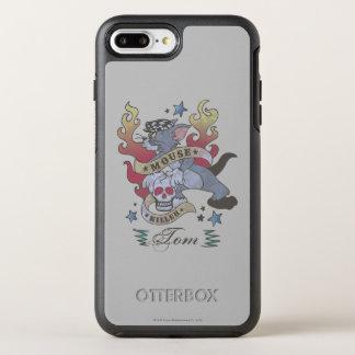 Coque Otterbox Symmetry Pour iPhone 7 Plus Tatouage 2 de tueur de souris de Tom