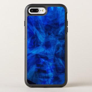 Coque Otterbox Symmetry Pour iPhone 7 Plus Tessons géométriques de glace bleue fraîche