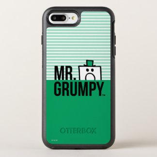 Coque Otterbox Symmetry Pour iPhone 7 Plus Tête jetante un coup d'oeil de M. Grumpy |